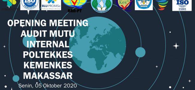 Opening Meeting Audit Mutu Internal 2020